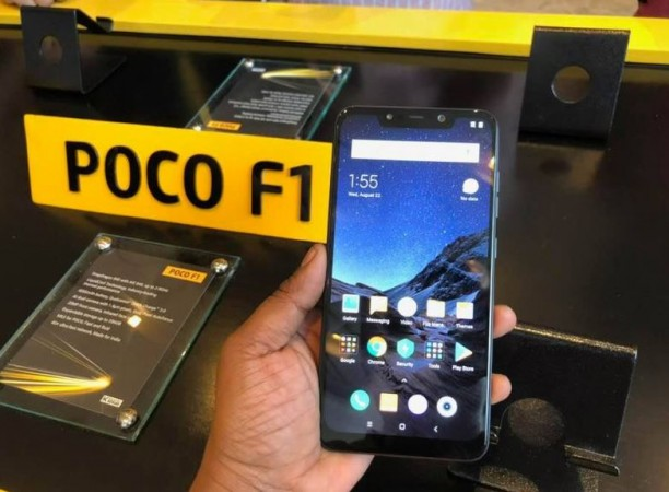 Poco F1 screen bleed issue reported in India