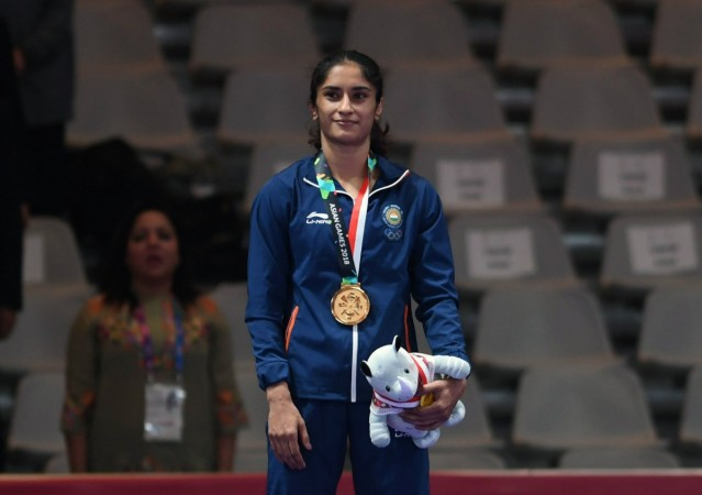 Asian Games 2020 India.Vinesh Phogat Becomes First Indian Woman Wrestler To Book