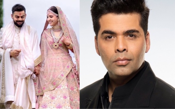 Karan Johar wants to get married? Anushka Sharma and Virat Kohli wedding made him all emotional