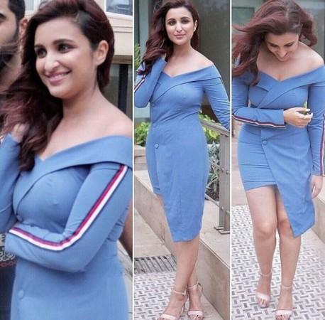 Parineeti Chopra suffers wardrobe malfunction