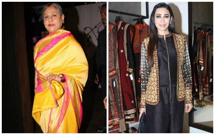 Jaya Bachchan snubs at media; is it due to Karisma Kapoor?