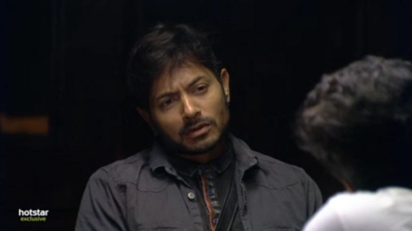 Kaushal in an argument with Ganesh in Bigg Boss Telugu 2 house