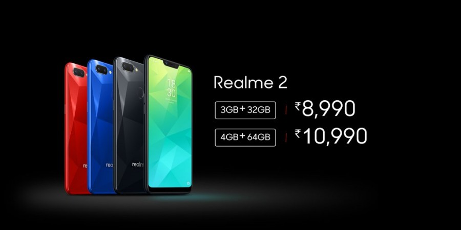 Realme 2 launched in India