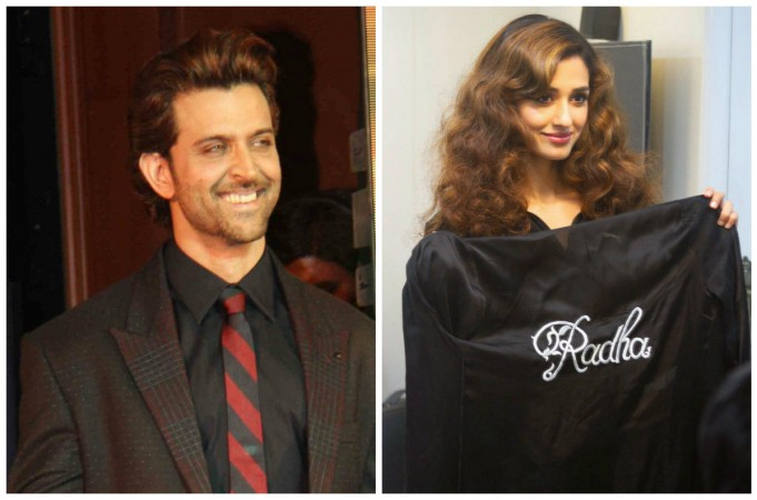 Hrithik Roshan and Disha Patani