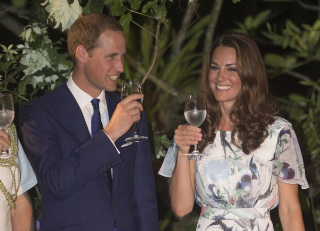 Kate Middleton drinking