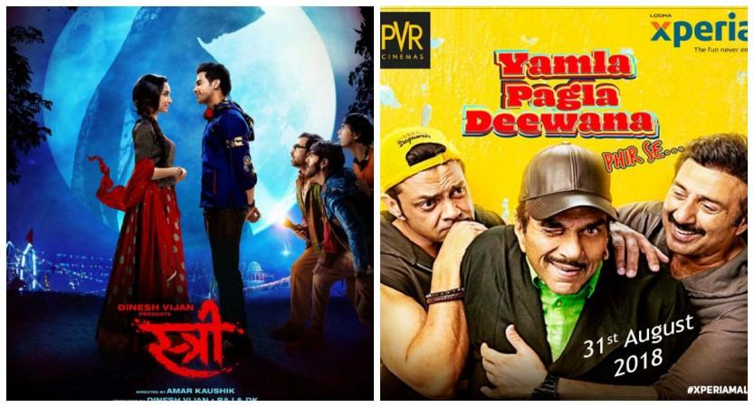 Stree and Yamla Pagla Deewana Phir Se box office prediction