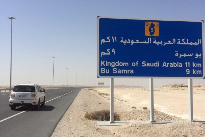 Saudi Arabia-Qatar border