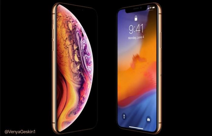 Apple, iPhone XS, gold
