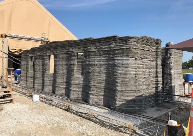 3D Printed Barracks