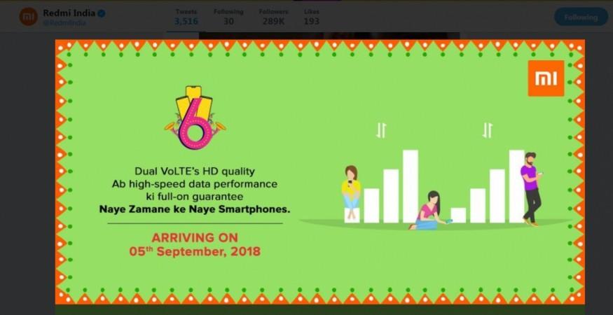 Xiaomi, Redmi 6, India, launch, Desh ke naye smartphones, teaser