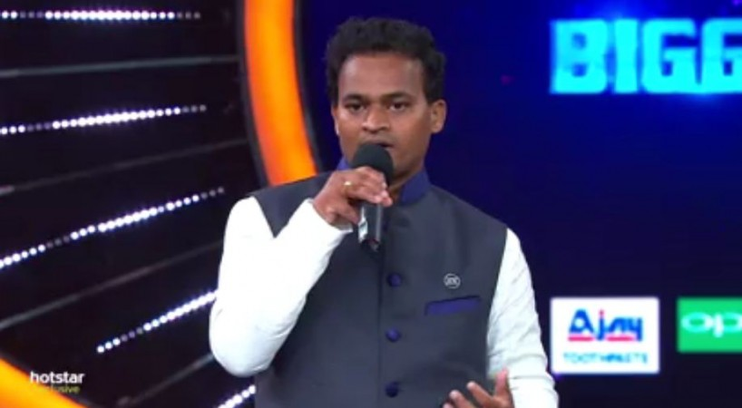 Nuthan Naidu on Bigg Boss Telugu 2 stage