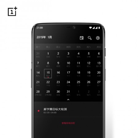 OnePlus marks the calendar for January 15, 2019