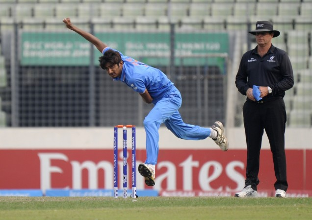 indian pacer  Syed Khaleel Ahmed