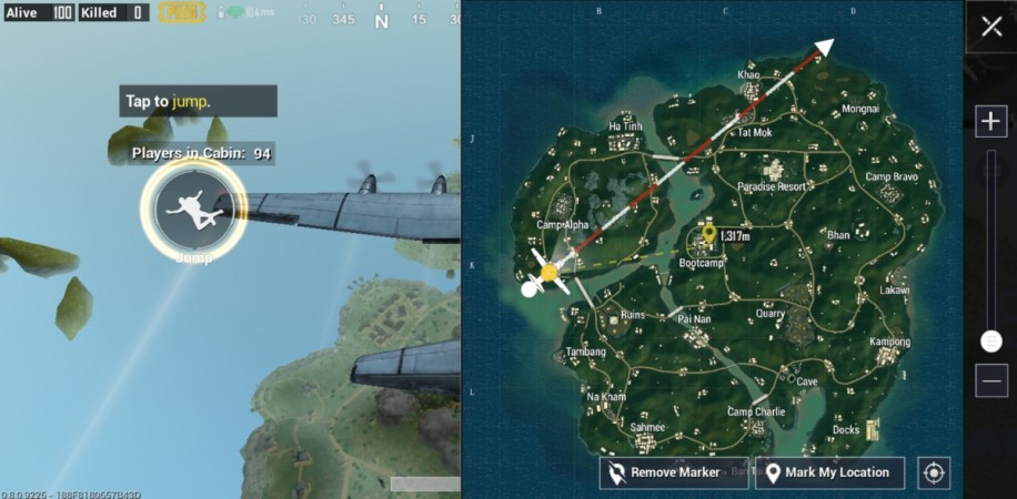 how to change maps on pubg mobile