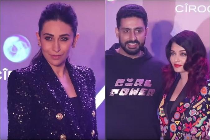 Karisma Kapoor, Abhishek Bachchan, Aishwarya Rai Bachchan