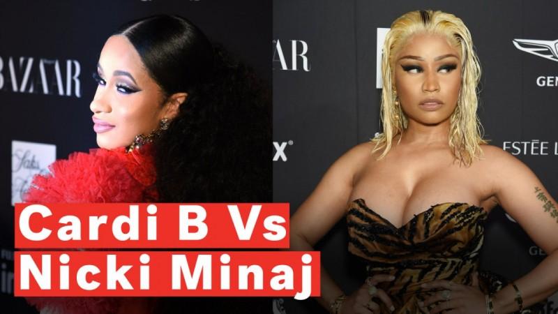 Cardi B Vs Nicki Minaj: What Happened At New York Fashion Week?