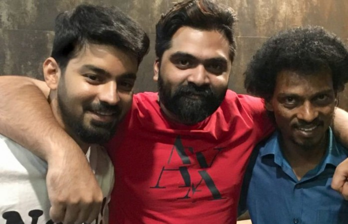 Simbu with Mahat and Sendrayan