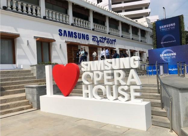 Samsung, Samsung Opera House, Samsung Opera House, Bengaluru, Opera House, Samsung Experience Store