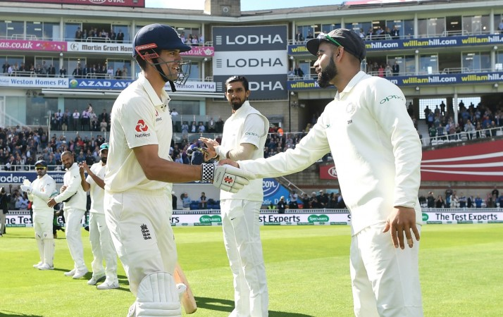 Alastair Cook and Virat Kohli