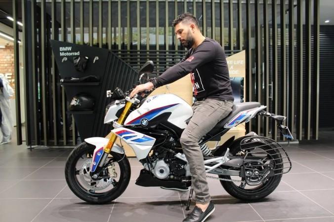 Yuvraj Singh buys BMW G 310 R