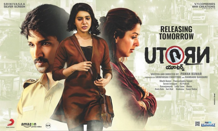 U Turn full HD Telugu/Tamil movie leaked on torrent sites