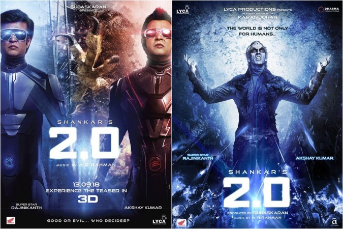 Rajinikanth and Akshay Kumar's movie 2.0