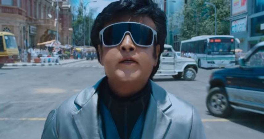 Rajinikanth in 2.0
