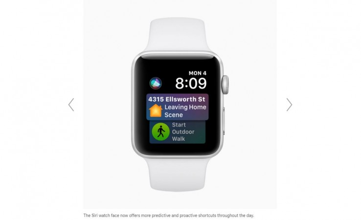 Apple, watchOS 5, features, Improved Siri
