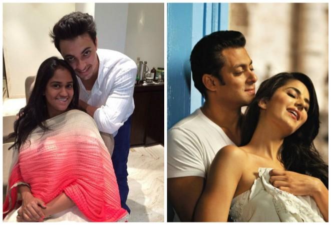 Did Aayush Sharma confirm Salman Khan and Katrina Kaif's relationship?