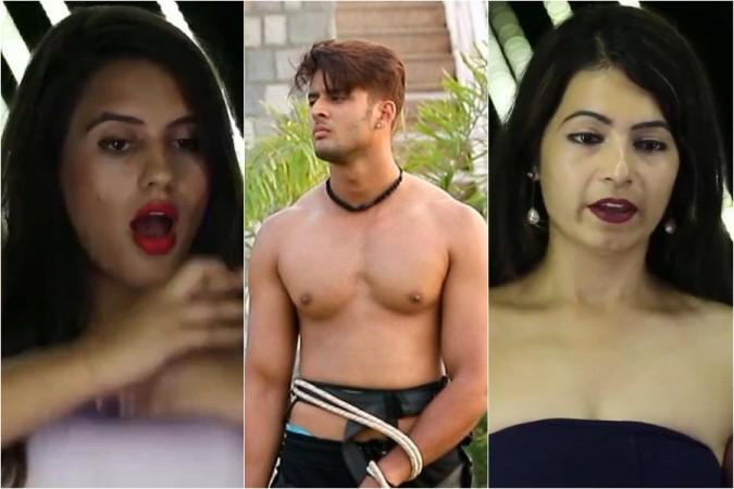 Arushi Handa, Shagun Pandey, Monal Jagtani, MTV Splitsvilla 11