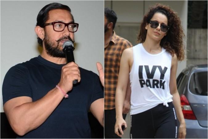 Aamir Khan, Kangana Ranaut