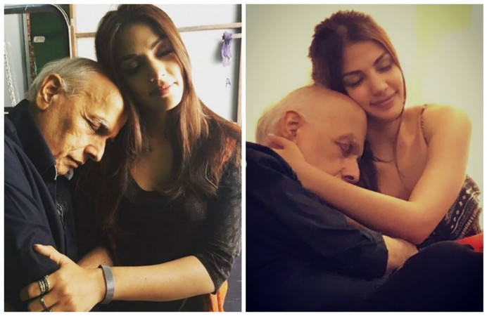 Rhea Chakraborty trolled for pictures with Mahesh Bhatt