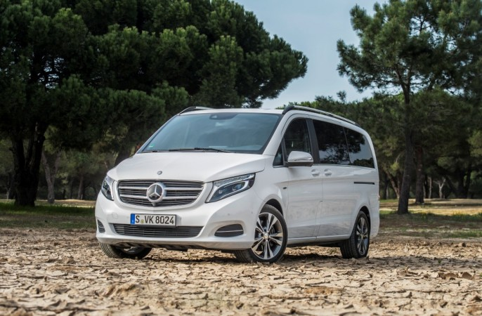 Mercedes-Benz may launch V-Class luxury van in India soon - IBTimes