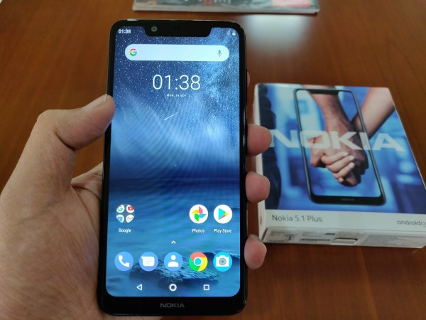Nokia 5.1 Plus hands on