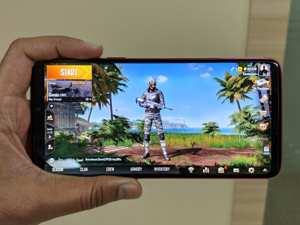 OnePlus 6 is best for PUBG Mobile