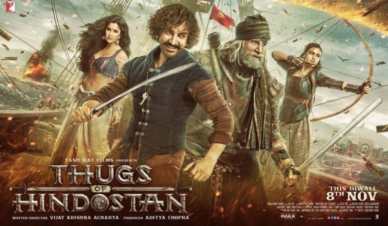 WThugs of Hindostan poster