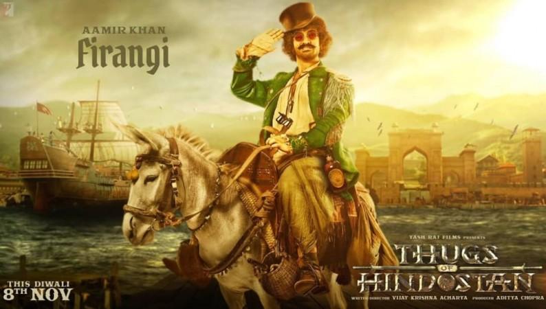 Aamir Khan in Thugs of Hindostan