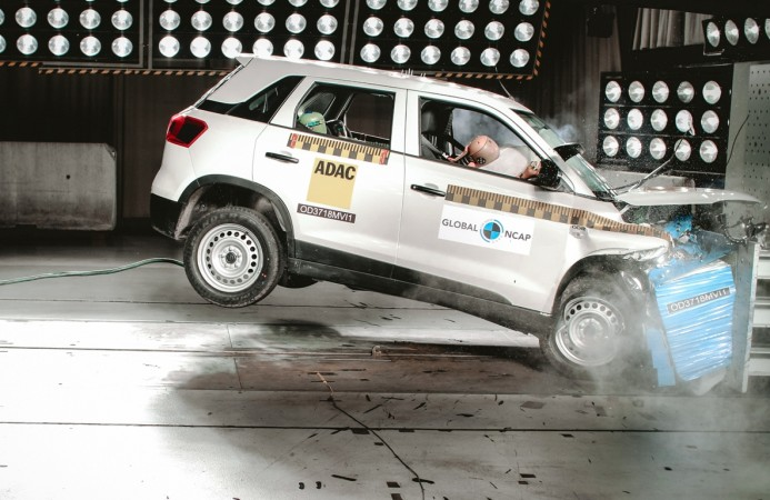 Maruti Suzuki Vitara Brezza, Global NCAP crash test