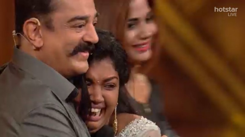 Kamal and Riythvika in Bigg Boss Tamil 2