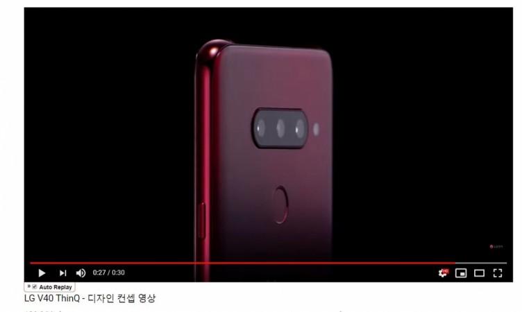 LG, V40 ThinQ, five cameras,