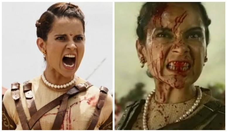 Kangana Ranaut in Manikarnika teaser