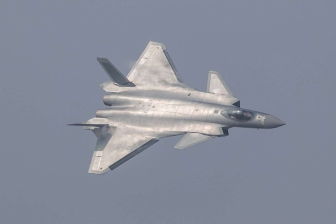 Chinese J-20 stealth fighter aircraft