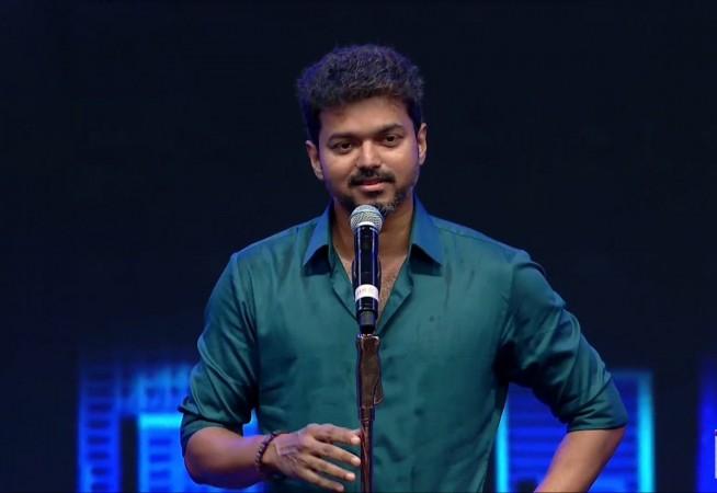 Vijay at Sarkar audio launch