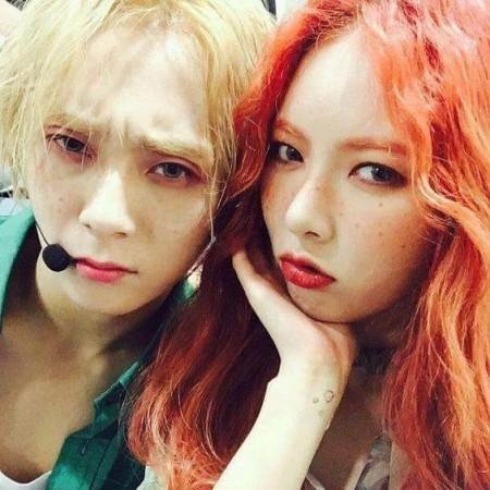 HyunA and E'Dawn