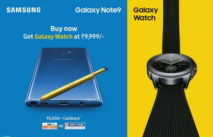 Samsung, Dussehra offer, Galaxy S9 , Galaxy Note9, India, price, specs
