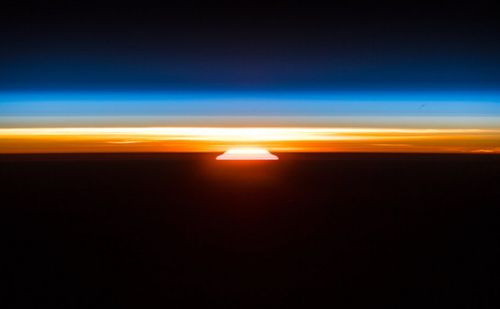 Sunrise from ISS