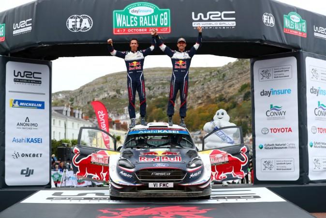 WRC, Wales Rally GB, Sebastien Ogier
