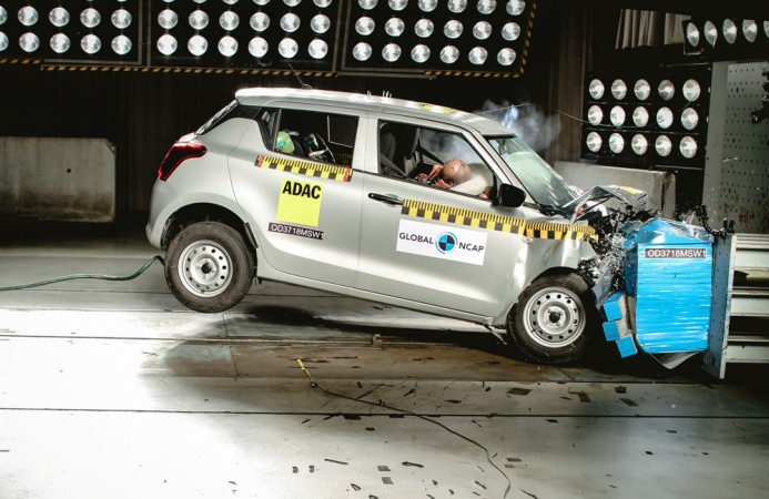 2018 Maruti Suzuki Swift, Crash test, Global NCAP