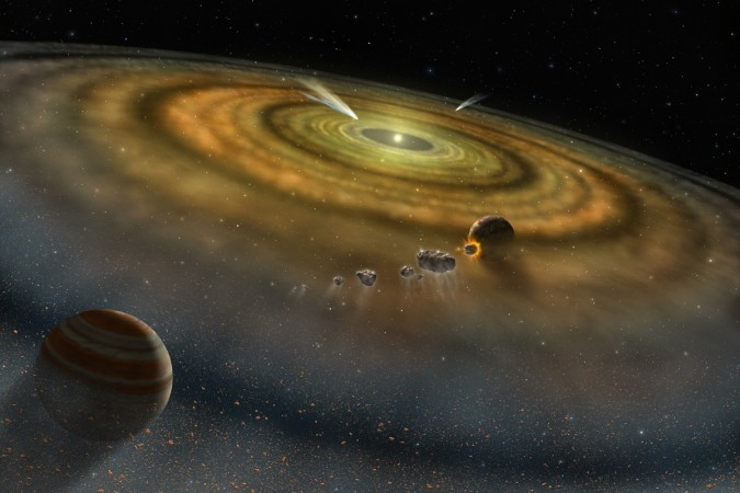 Planetary alignment to cause earthquake