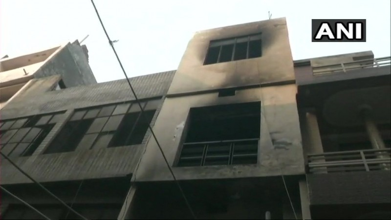 fire broke out at a hosiery factory